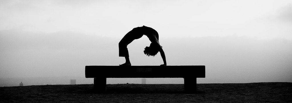 Yoga Urdhva Dhanurasana Upward Bow Or Wheel Pose By Andrew Meyers Photography