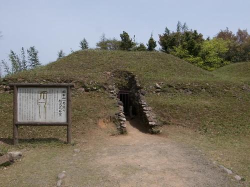 八雲立つ風土記の丘にある古墳
