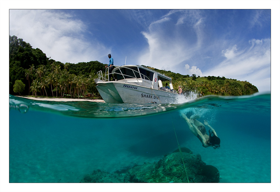 dive to Fiji