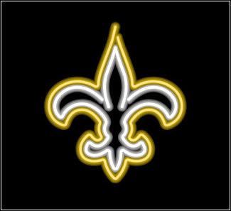 Saints Fleur De Lis http://www.flickr.com/photos/carradine65/galleries/72157622484528131