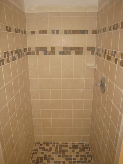 Shower Walls New Ceramic Tile Installation Flickr Photo Sharing