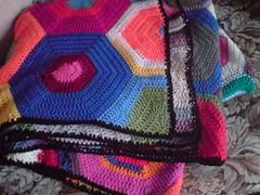 Hexagon Blanket Edging
