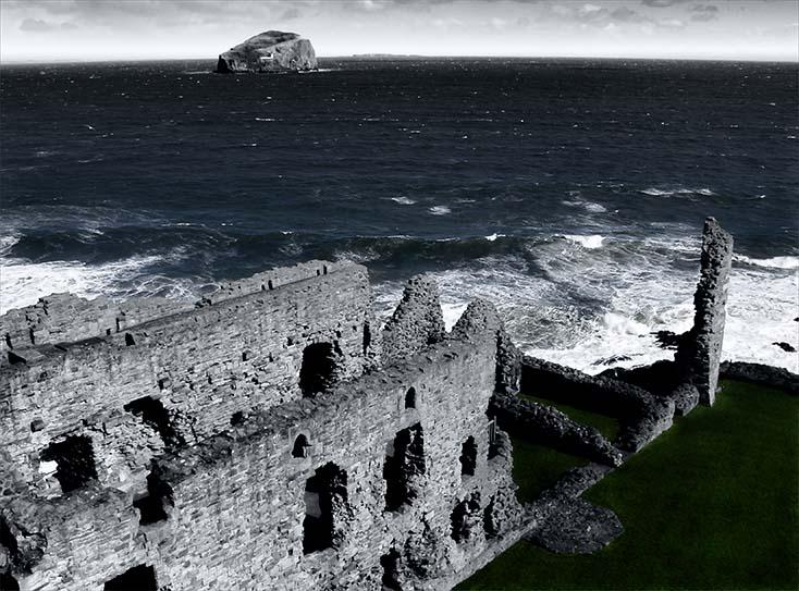 Photography - Tantallon Castle Coast by Nicholas M Vivian