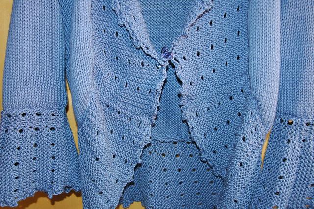 Knit Bed Jacket Pattern Patterns Gallery