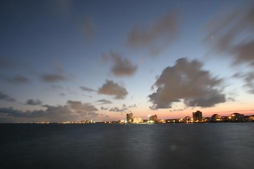 sunset 20d beach clouds cherry pier grove north cannon myrtle