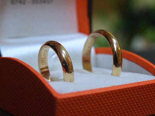 Wedding's rings
