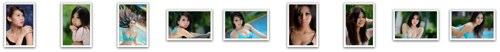 Bikini and portraiture samples with the Nikon D300 plus Sigma 150mm f/2.8 HSM macro lens