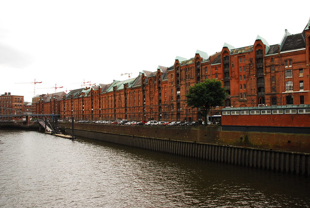 other side of speicherstadt