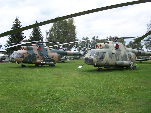 Mil Mi-8TB und Mi-9