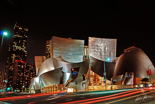 california ca street usa st architecture night photoshop print photography la hall losangeles los high fantastic concert artwork nikon bravo long exposure shot dynamic angeles 1st hill gehry disney canvas bunker socal kris d200 walt 2008 range hdr futuristic available kkg cs3 photomatix kros kriskros 1xp kk2k kkgallery