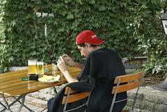 Trots op z'n bier