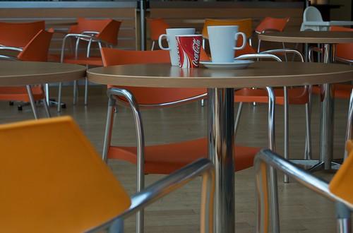 Quiet café