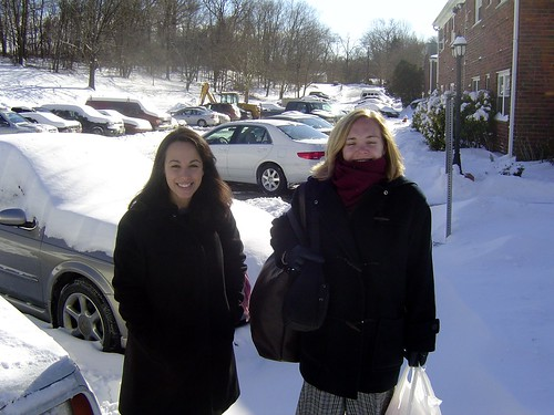 Snowing in Ramsey