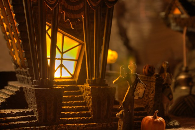 Nightmare Before Christmas Town Hall with Jack | Flickr - Photo ... Nightmare Before Christmas Jack