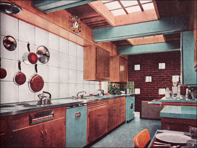 1956 BH&G Midcentury Kitchen