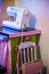 sewing, art, pink,