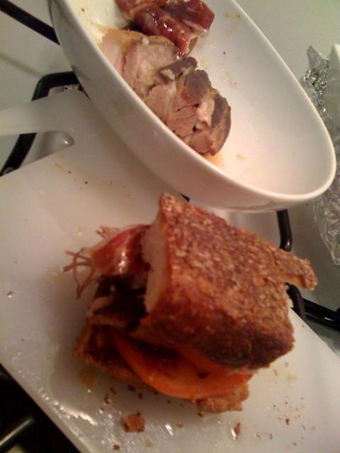 Jabugo Pork belly bun - Spanish style | Flickr - Photo Sharing!