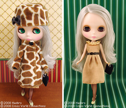Neo Blythe Cappuccino Chat