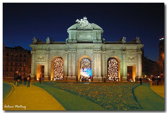 Puerta de Alcala - Navidad 2008