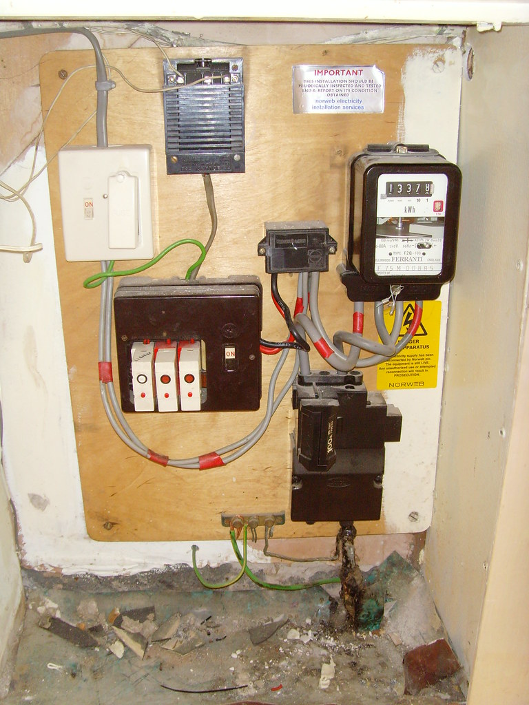 Old Fuse Switch Box - Wiring Diagrams Folder Old Fuse Box Problems on