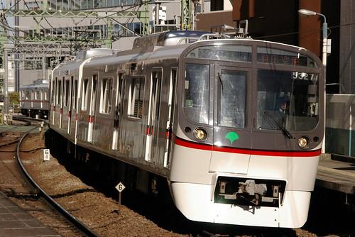 Toei5300series in Kita-Shinagawa,Shinagawa,Tokyo,Japan 2008/12/31