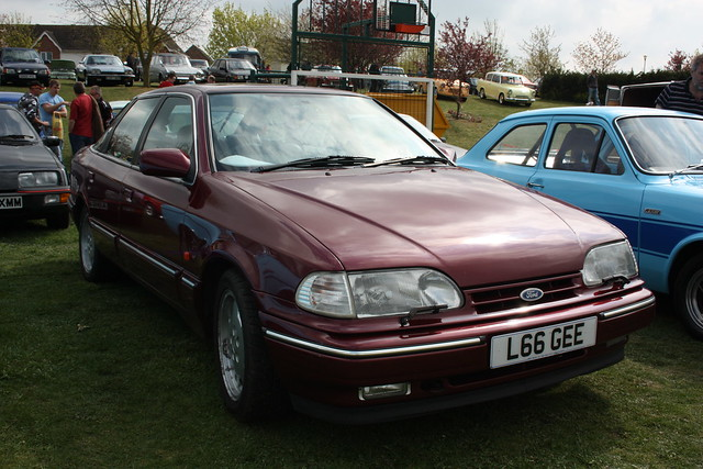 1993 ford granada scorpio 24v cosworth flickr. Black Bedroom Furniture Sets. Home Design Ideas