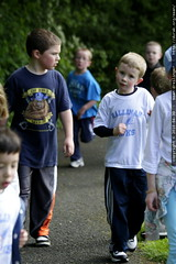 eli and esben in the jog a thon