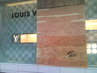 After the Riot - Louis Vuitton looted on Granville