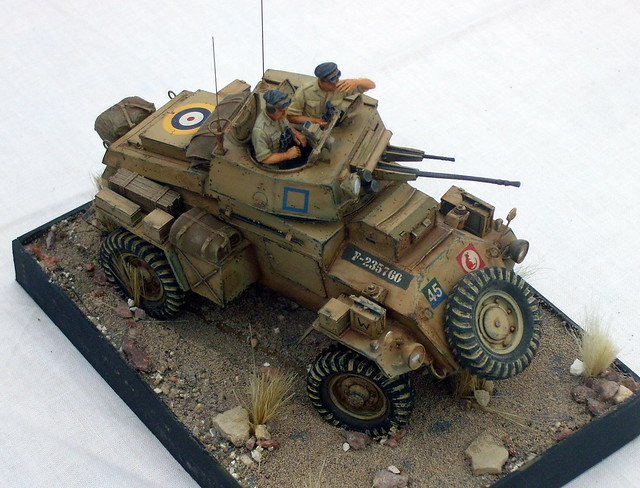 Model Humber Armoured Car 1 35 Scale Flickr Photo Sharing