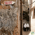 Girls Walking Down Street - Stone Town, Zanzibar