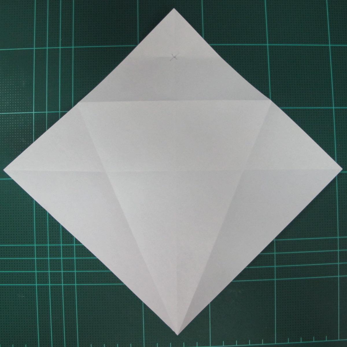 วิธีพับกระดาษเป็นรูปปลาแซลม่อน (Origami Salmon) 008