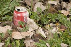 Cocacola en el campo