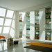 "Mazzali: ""M40"" wardrobe and bookcase / l'armadio ""M40"" . Living area"
