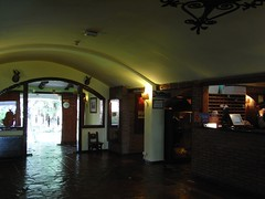 Recepción del Hotel NH La Perdiz