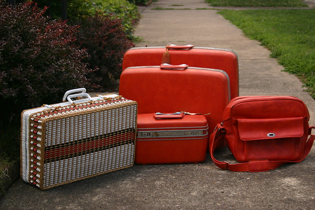 Suitcases by Spooky Momma