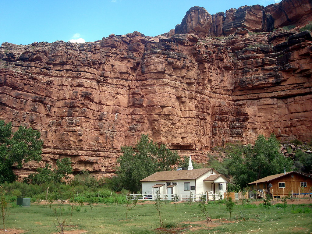 lds chapel, supai arizona