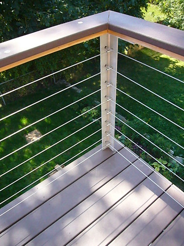 Deck designs modern deck railing designs for Modern balcony railing design