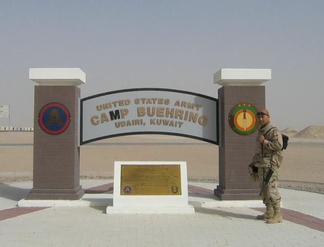 Camp buehring kuwait zip code