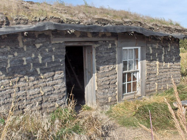 Prairie Dugout Sod House On The Prairie Sanborn Mn