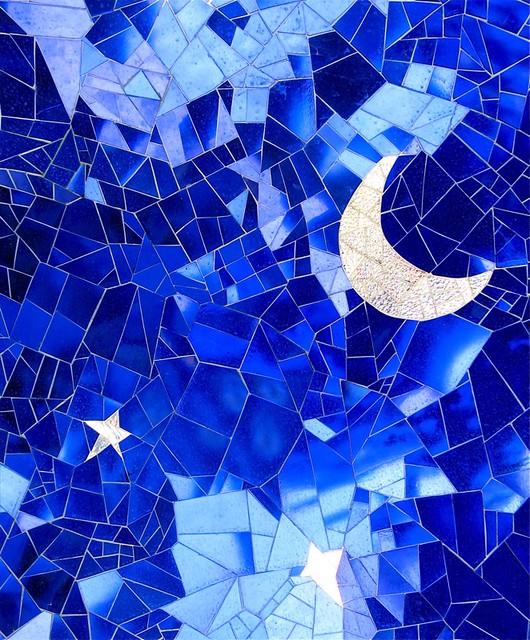 Mosaic of sea and sky – Mosaic photos