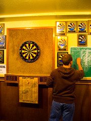 indoor games and sports, individual sports, sports, recreation, recreation room, games, darts,
