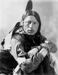Joseph Two Bulls, Dakota Sioux, by Heyn & Matzen Photo, 1900