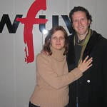 Mason Jennings at WFUV with Claudia Marshall