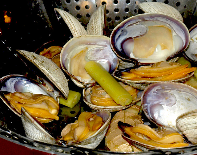 Steamed clam with lemongrass and ginger | Flickr - Photo Sharing!