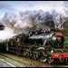 Steam at Speed (Yuletide Special) by Allan Stodd