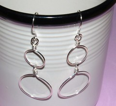 Double sterling hoops