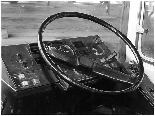 ACTION Leyland National - dashboard