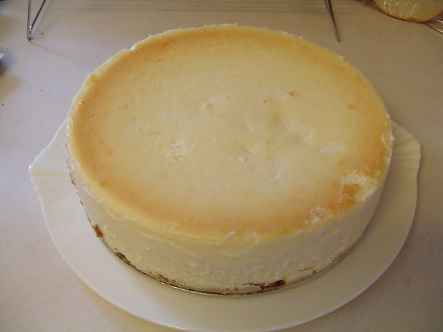 lemon cheesecake with gingersnap crust | Flickr - Photo Sharing!