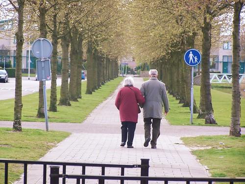 Man met dementerende echtgenote - Het Lage Land, Rotterdam