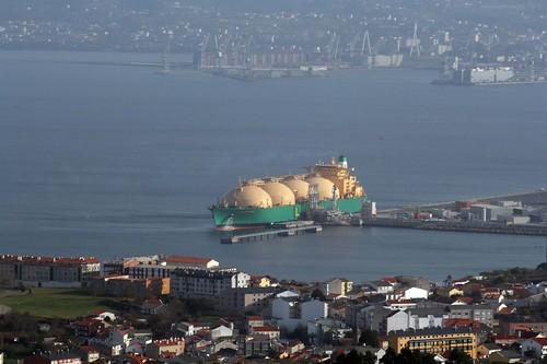 barco ships lng ferrol mugardos reganosa gasero gascarrier